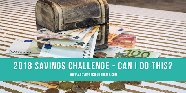 2018 Savings Challenge - Can I Do This?