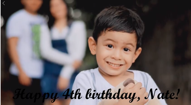 Happy 4th Birthday, Nate! ♥