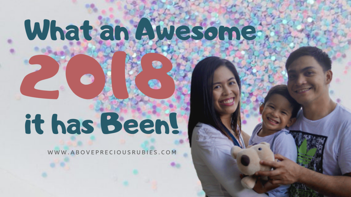 What an Awesome 2018 it has Been!